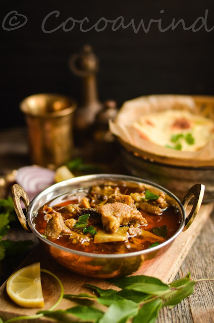 Mutton Curry inspired by Mutton Ghee Roast