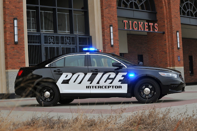 2016 Ford Taurus Police Interceptor Sedan (Source: Ford)
