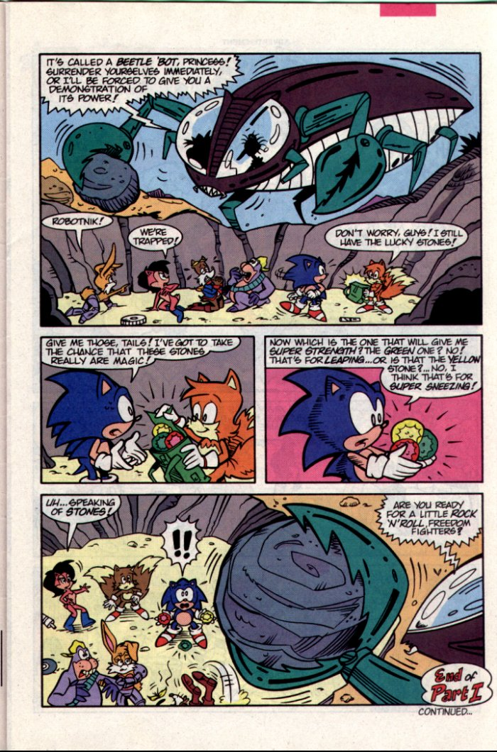 Read online Sonic The Hedgehog comic -  Issue #15 - 8