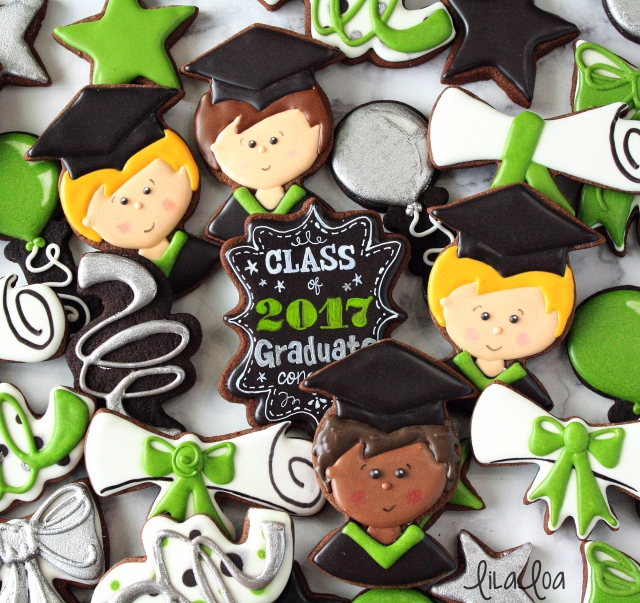 How to make graduation cookies