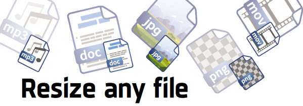 Resize any file without losing quality