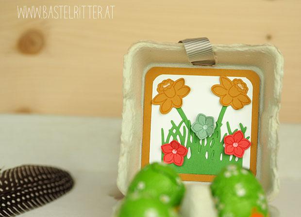 Osterkoerbchen Stampin' up! Bastelritter Ostern Osternest Papierturnier