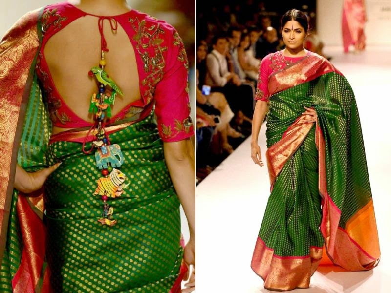 fashion week saree