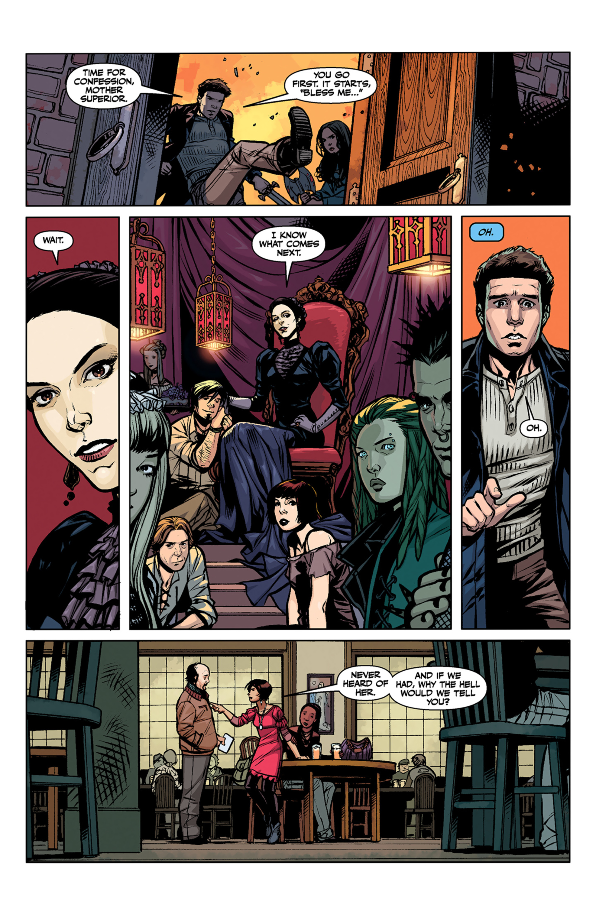 Read online Angel and Faith comic -  Issue #6 - 23