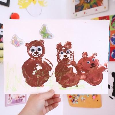 activité peinture pour enfants