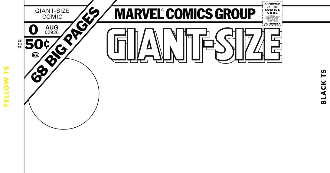Create your own Giant-Size Marvel cover! And our blog logo changes!
