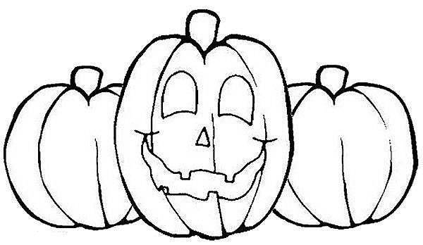 Coloring pages with pumpkins ~ Jack O'Lantern (Halloween Pumpkins) Coloring Pages ...