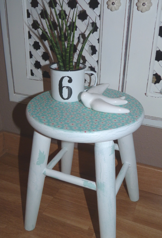 Decoupage en muebles paso a paso isabel vintage - Muebles craquelados ...