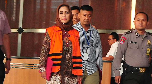 Wali Kota Tegal Siti Masitha Soeparno di KPK