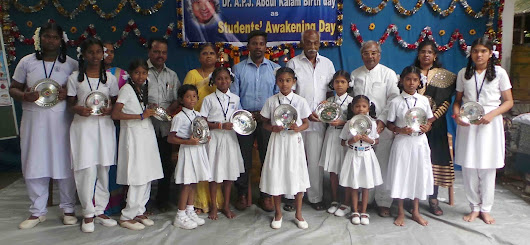 "International Female Child Day , International Hand washing Day & ""People's President"" Dr. A.P.J. Abdul Kalam's Birthday celebrate as ""Students' Awakening Day"""