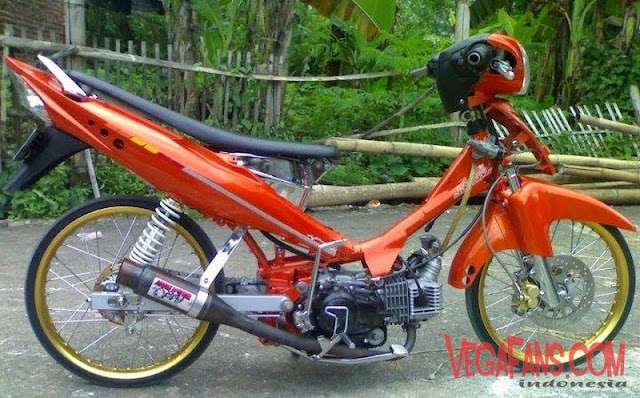 Jupiter Z Orange Modif Stret Racing