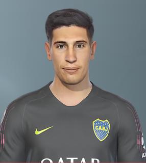 PES 2019 Faces Esteban Andrada by SeanFede