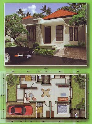 Desain Dan Denah Rumah Type 70/116
