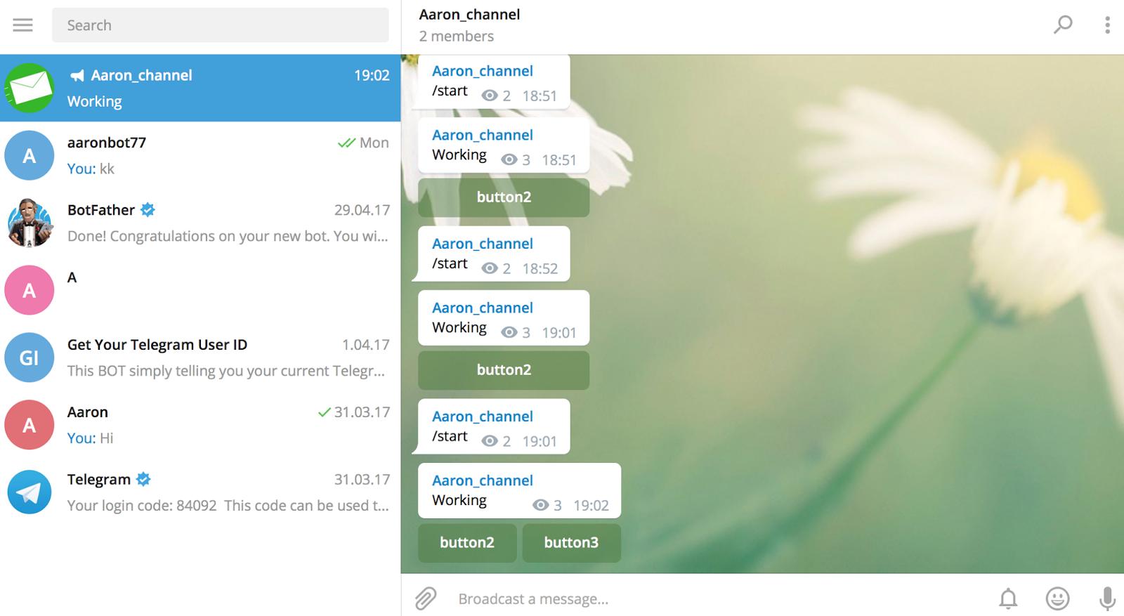 getUpdates updates telegram bot without Webhook - IT NEWS
