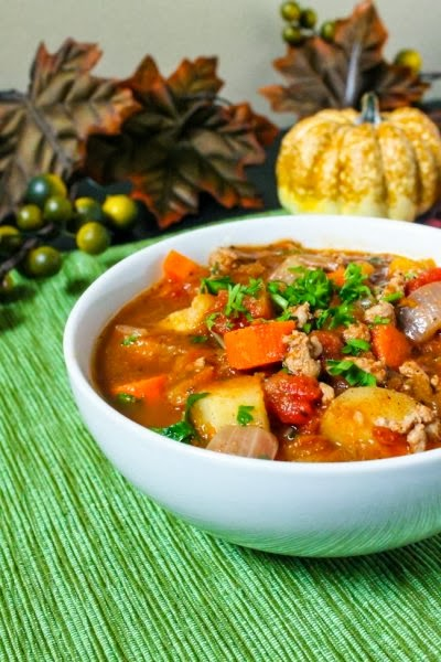 Healthy Fall Vegetable Soup image