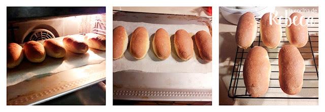 Receta de pan de perrito caliente: enfriado