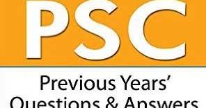 Kerala PSC English Grammar Previous Questions & Answers