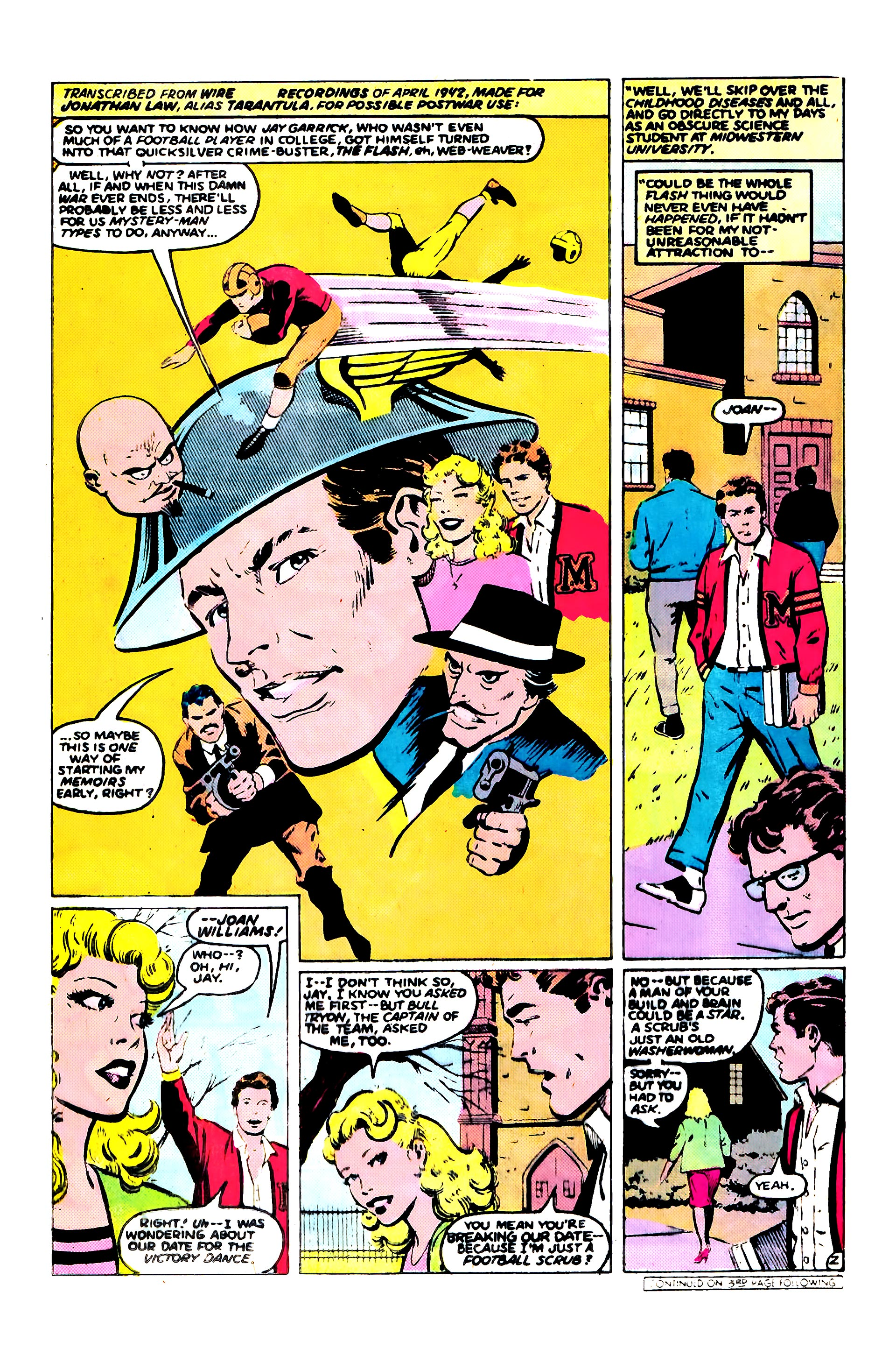 Read online Secret Origins (1986) comic -  Issue #9 - 25
