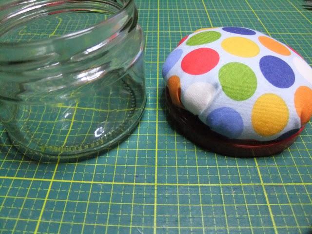 Nähglas für Nadeln und Wonderclips