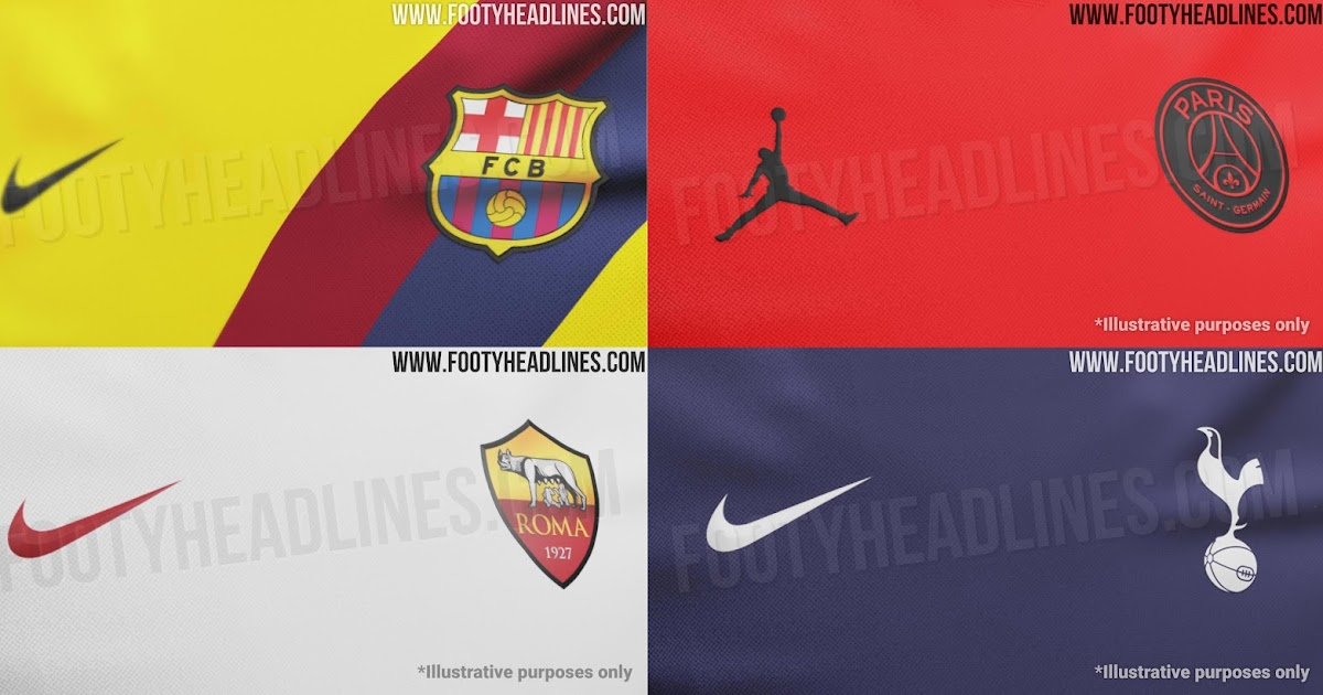 All Nike 19 20 Away Kit Infos Leaked Barcelona Jordan