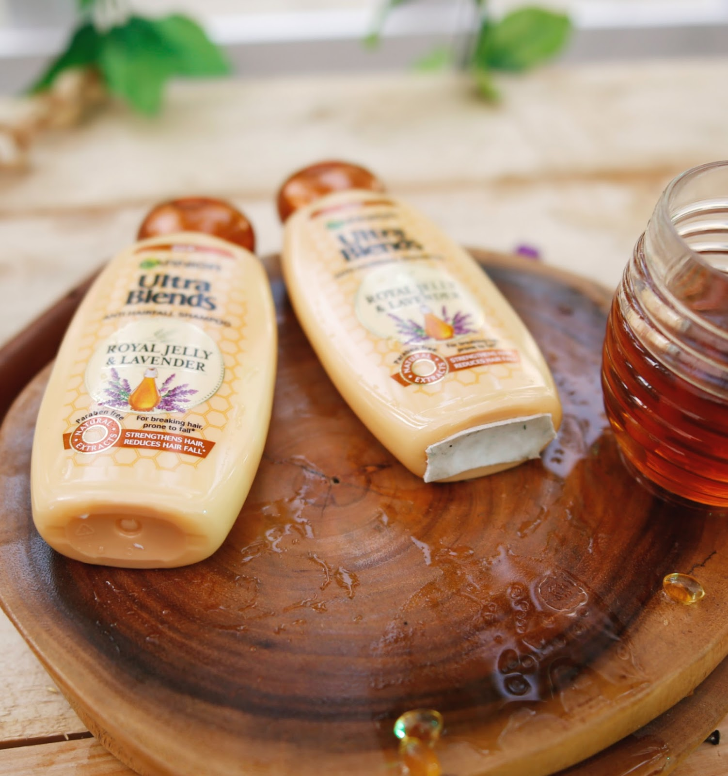 Garnier Ultra Blends Royal Jelly and Lavender Shampoo Review