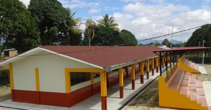 Renovado colegio bilingüe en la Región San Martín beneficia a más de 600 niños y jóvenes awajún