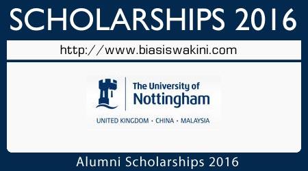 Alumni Scholarships 2016