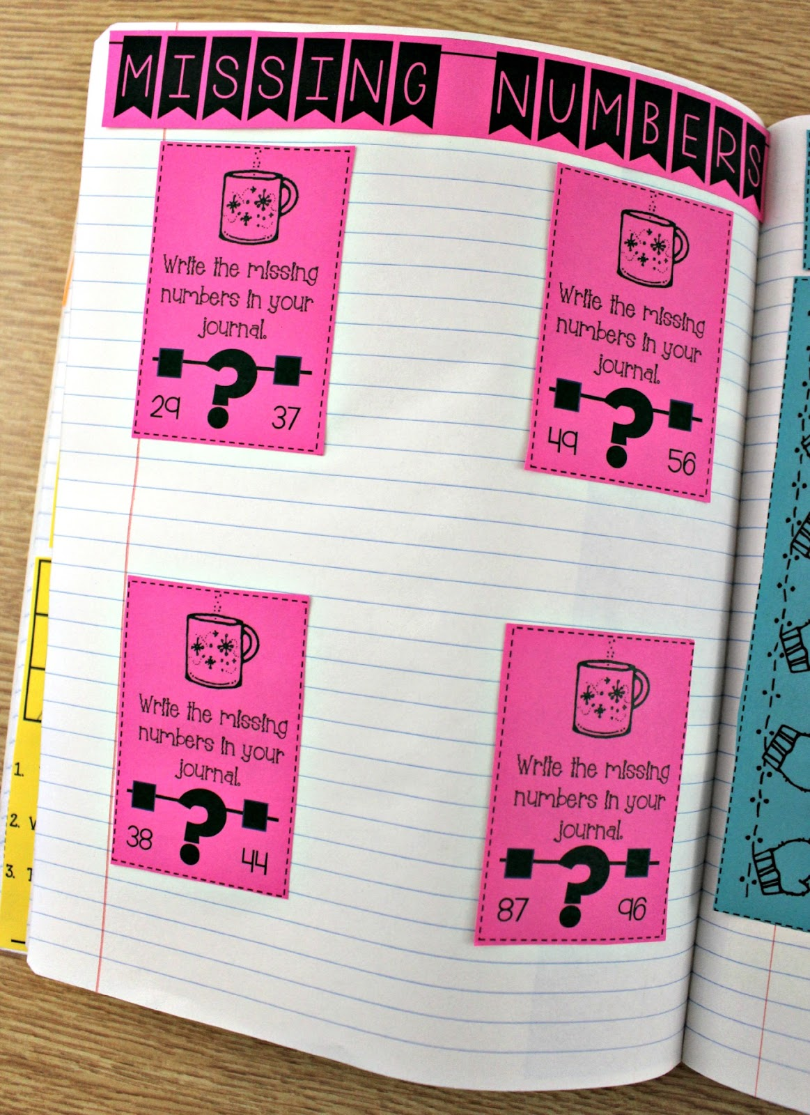 Math Journals For First Grade