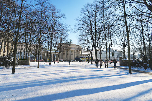 Snowy Berlin