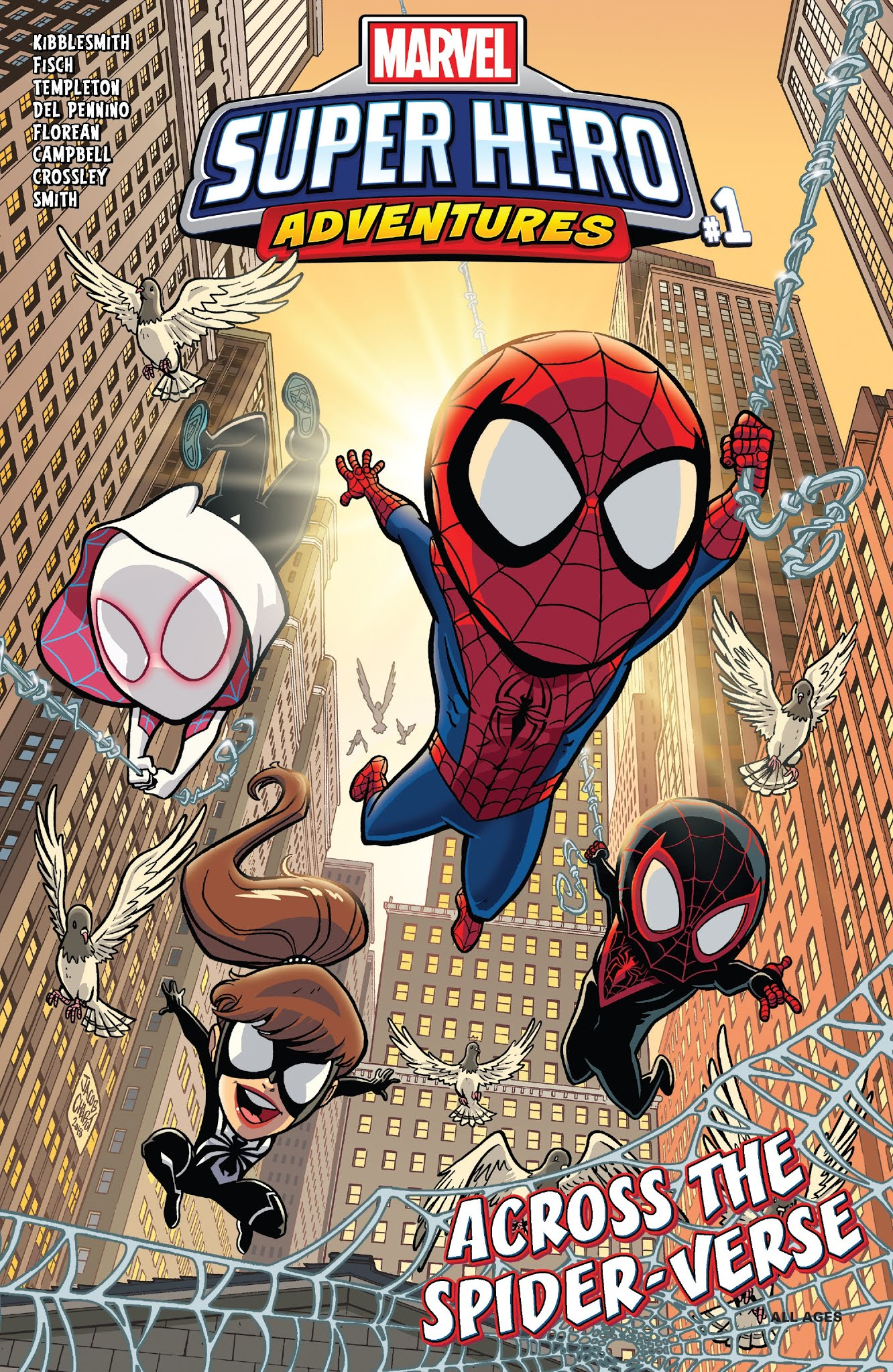 Marvel Super Hero Adventures: Spider-Man – Across the Spider-Verse Full Page 1