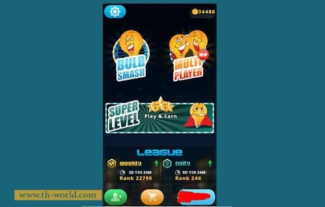 افضل-طرق-الربح-من-الانترنت-بواسطة-لعبة-bulb-smash-للاندرويد-1