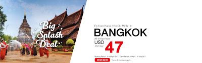 Thai Lion Air tung giá vé shock đến Bangkok