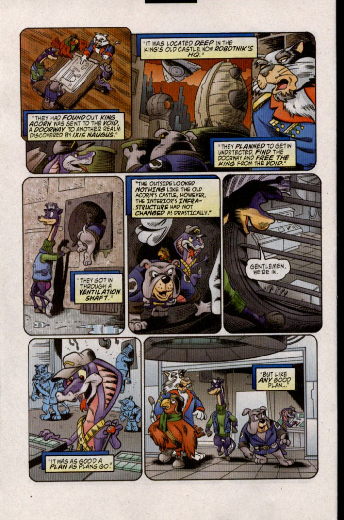 Read online Sonic The Hedgehog comic -  Issue #143 - 7