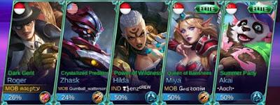 Team 1 Mobile Legends