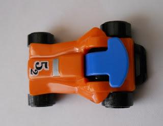 coche serie sprinty regalo de kinder sorpresa