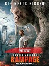 Rampage (2018) HDCAM-Rip Hindi Dubbed Full Movie Watch Online Free