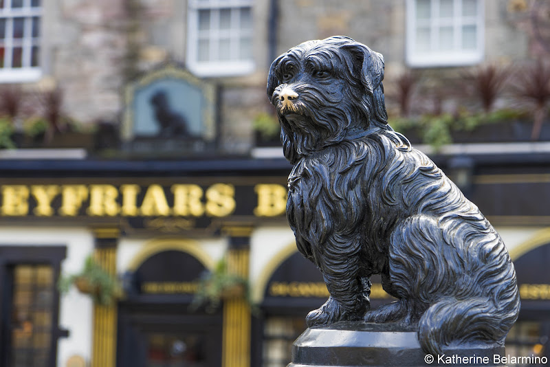 Greyfriars Bobby Statue Things to Do in Edinburgh in 3 Days Itinerary