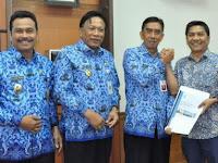 Direktur PDAM Gresik Muhammad Diganti, Bupati Berharap Plt Mampu Atasi Gangguan Air