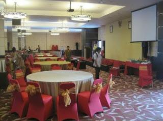 Fasilitas ruang seminar atau meeting yang lengkap di mercure
