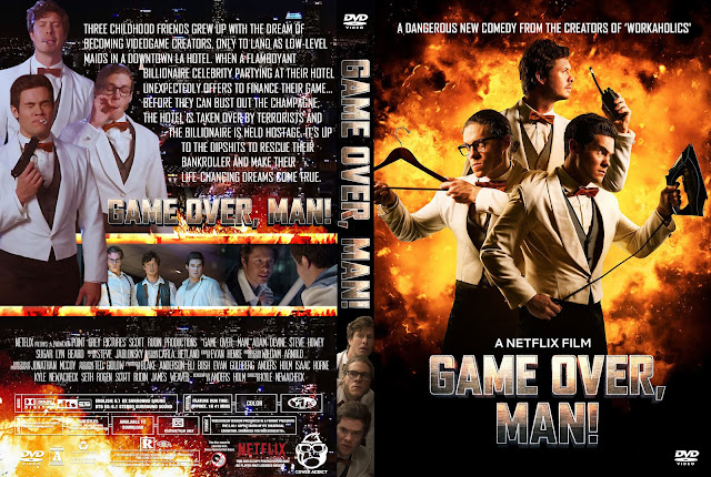 Game Over, Man! DVD Cover