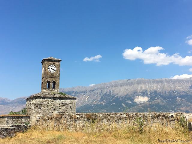 La citadelle Kalaja à Gjirokaster en Albanie