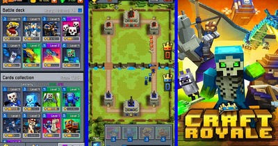 Craft Royale - Clash of Pixels MOD APK 2.15 (Unlimited Gold, Gems ...
