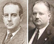 Los ajedrecistas españoles Josep Cabestany y Antonio Garrigosa