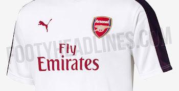 Puma Arsenal 18-19 Training Jerseys Leaked 52ba64bcf
