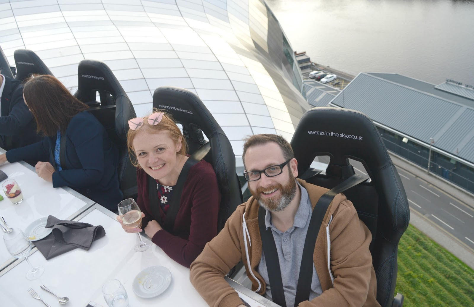 Newcastle in the Sky, Dining at 100 ft
