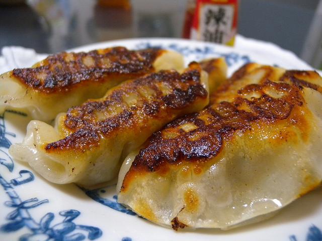 Gy?za, las empanadillas japonesas