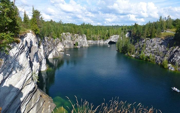 Отдых в Карелии и парк Рускеала