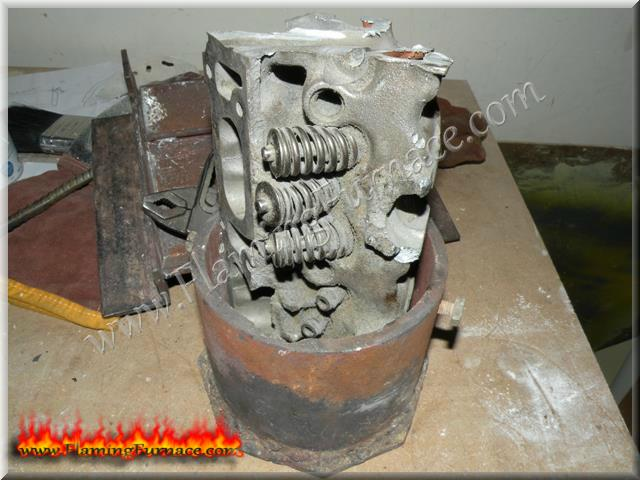 Scrap Aluminum For The Homemade Foundry Metal Casting
