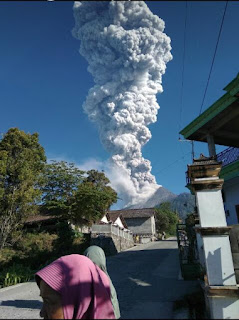 merapi eruption 2018