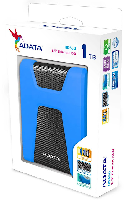 "Product Review - @ADATATechnology HD650 2.5"" External Hard Disk Drive #Gadgets"
